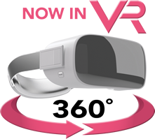 Now in VR - 360 degrees