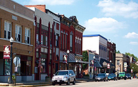 Downtown Chillicothe, Illinois