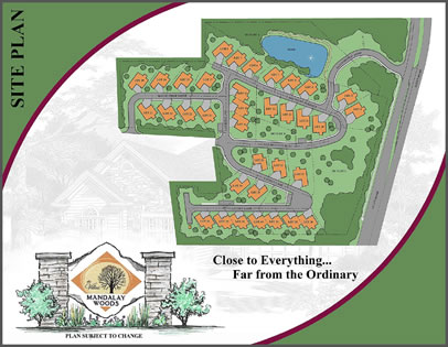 Mandalay Woods Site Plan